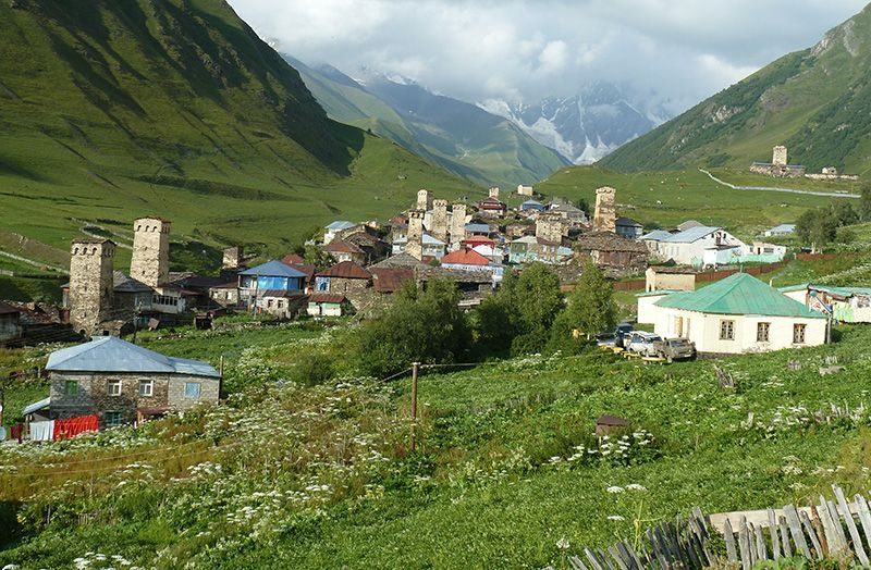Ushguli - World heritage