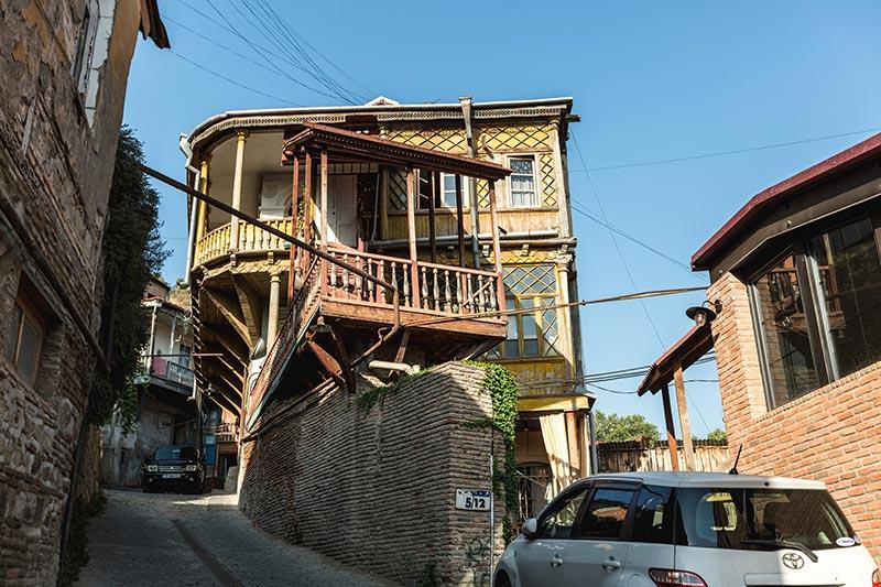Tbilisi houses